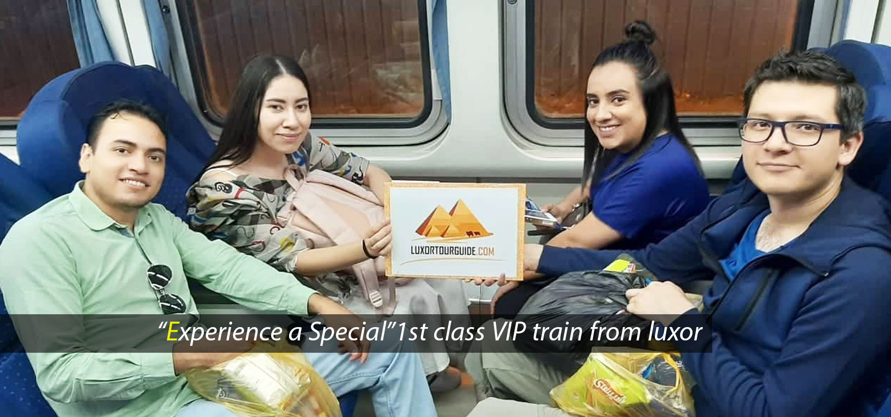 VIP train from luxor